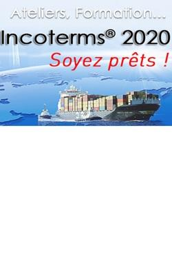 Incoterms 2020 Soyez prêts porte-containers Camion
